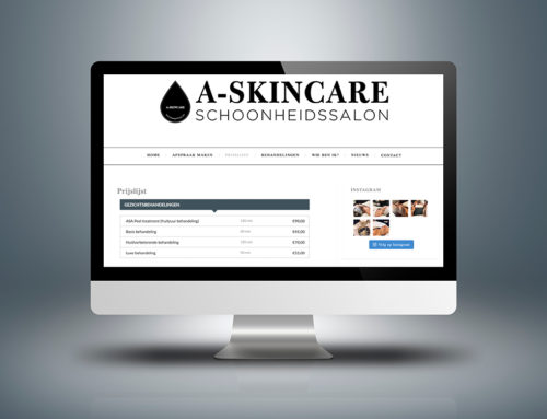 Website A-Skincare